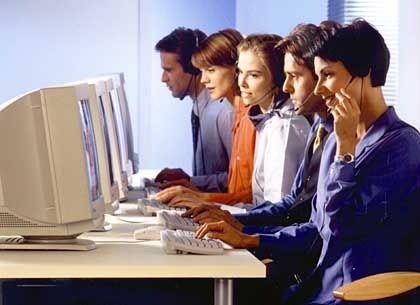 Callcenter-Mitarbeiter: Offenbar oft überfordert