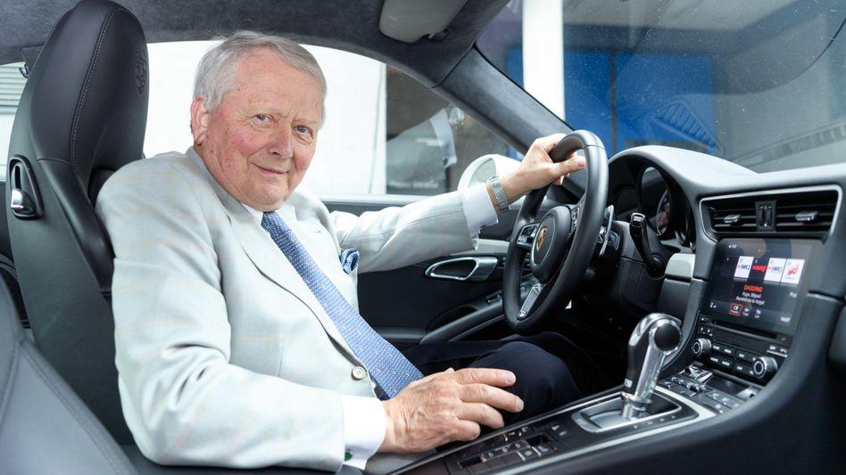 Patriarch am Steuer: Wolfgang Porsche, Aufsichtsratschef der beklagten Porsche SE (Großaktionärin des Volkswagen-Konzerns) sowie des Autoherstellers Porsche AG (Volkswagen-Tochter)