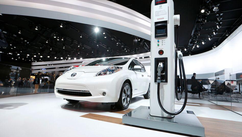 Nissan Leaf: Bald mit Akkus, deren Fertigung von einem chinesischen Finanzinvestor kontrolliert wird