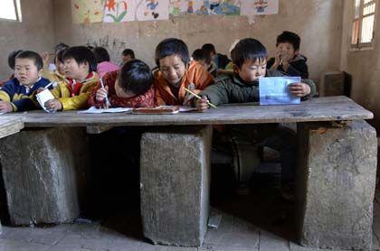 Schule in Fuyang: Eltern greifen zur Selbshilfe