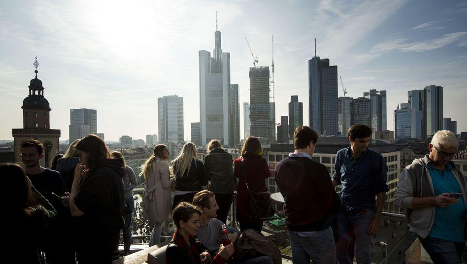 Frankfurter Skyline: Büroimmobilien sind das beliebteste Anlageziel offener Immobilienfonds.
