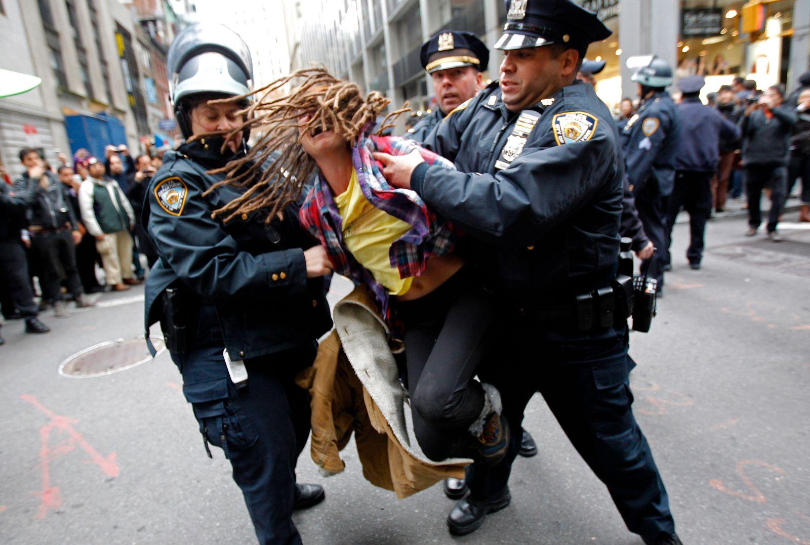 USA-PROTESTS /NEWYORK
