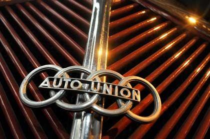 Traditionsname: Auto Union war ein legendärer deutscher Autokonzern, zu dem sich 1932 in Chemnitz die Marken Audi, DKW, Horch und Wanderer zusammen geschlossen hatten.