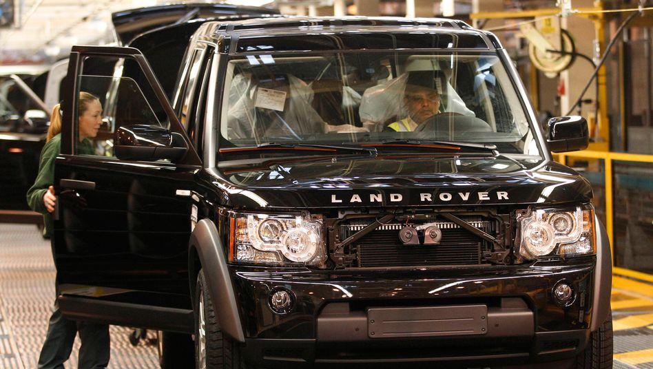 Einer der breitesten SUVs auf deutschen Straßen: Der Land Rover Discovery