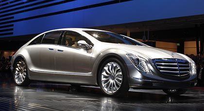 Mercedes- Benz F 700 auf der IAA: Luxus ist gefragt