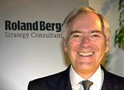 Minister in spe? Roland Berger