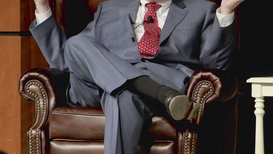 Warren Buffett: Der US-Millardär und der brasilianische Bier-Krösus Jorge Paulo Lemann schmieden mit der Fusion von Heinz und Kraft den fünftgrößten Nahrungsmittelkonzern der Welt