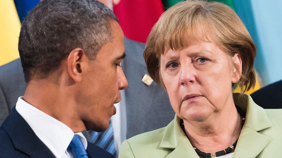 Charismatiker und Pragmatikerin: US-Präsident Barack Obama und Bundeskanzlerin Angela Merkel trennen nicht nur viele Positionen. Zur Wiederwahl gratulierte Merkel höflich