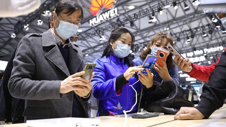 Generalprobe: In Shanghai probierte der Mobile World Congress im Februar sein Messekonzept schon einmal aus