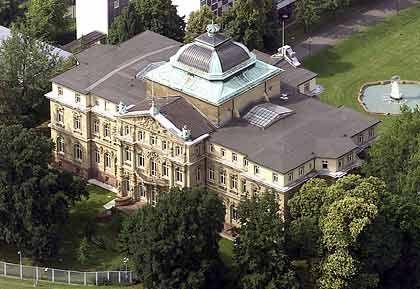 Ausnahmsweise anlegerfreundlich: Sitz des Bundesgerichtshofs im Erbgroßherzoglichen Palais in Karlsruhe