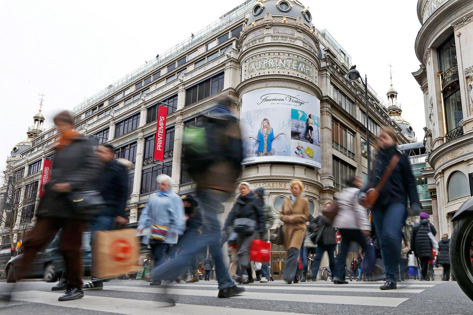 Frankreich / Konjunktur / Wirtschaft / Konsum / EU-Länder