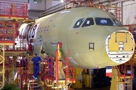 Produktion des Airbus A318 in Hamburg: Mutterkonzern EADS will kein Mitspracherecht für die Russen