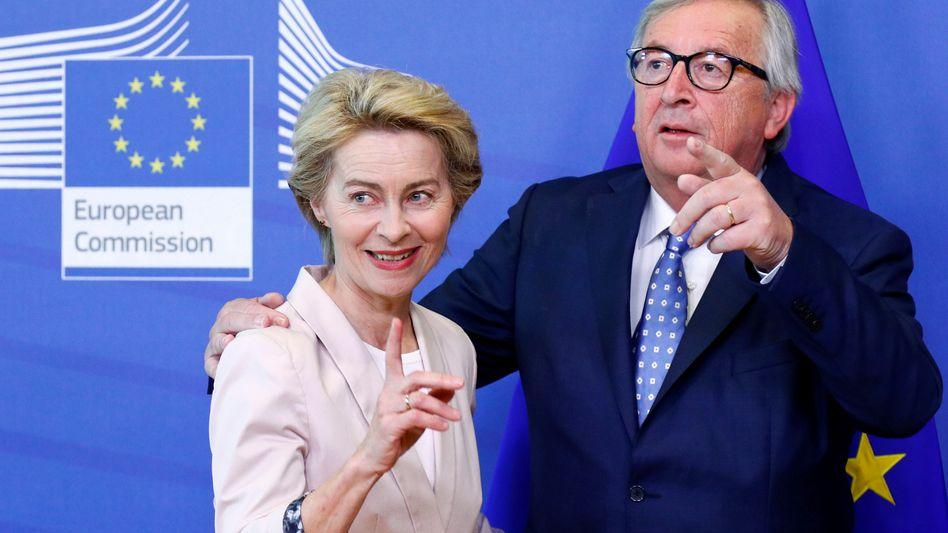 Will unbedingt nach Brüssel: Ursula von der Leyen will EU-Kommissionspräsident Jean-Claude Juncker nachfolgen und gibt dafür sicherlich gern den Schleudersitz als Bundesverteidigungsministerin auf