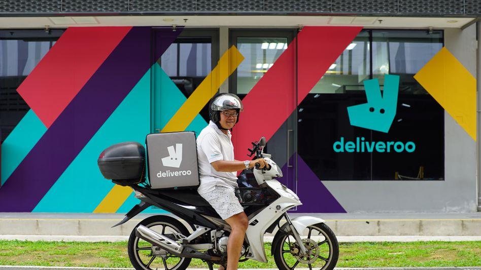 Bereit für die Börse: Deliveroo will sich in London notieren lassen und könnte mit bis zu sieben Milliarden Dollar bewertet werden