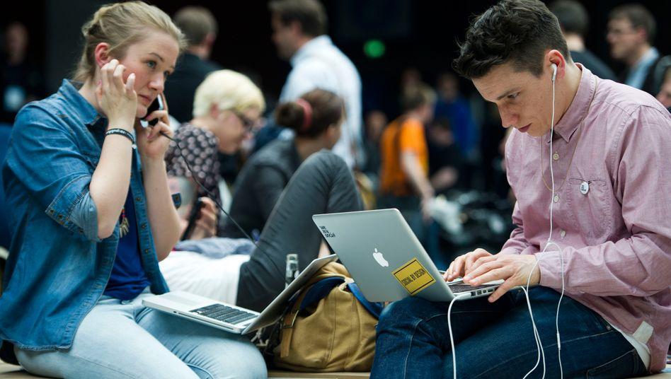 Sitzen da potentielle Start-up-Gründer?
