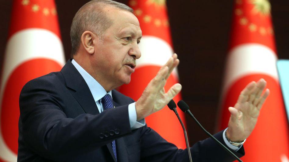 Recep Tayyip Erdogan (66): Kein Rezept gegen die Krise