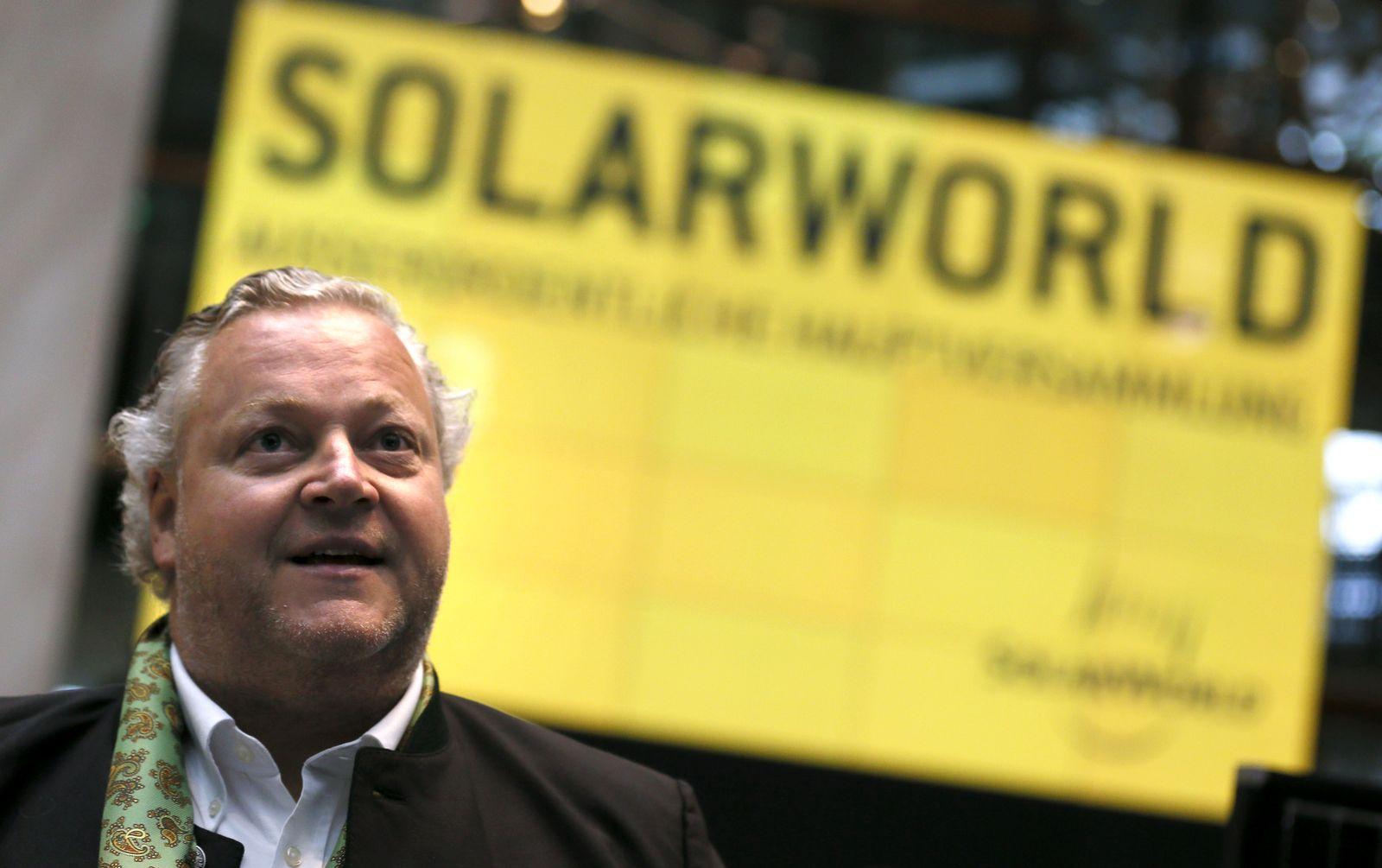 Frank Asbeck / SolarWorld