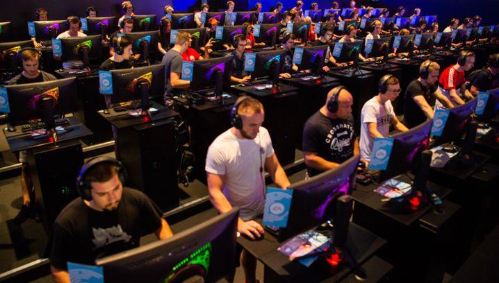 Besucher der Gamescom 2018