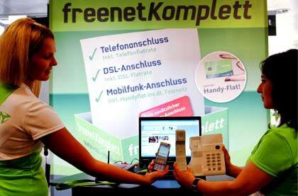 Hart umkämpfter Markt: Freenet laufen die Mobilfunkkunden weg