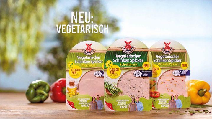 Vegetarischer Schinken Spicker: Die Zahl der Veggi-Produkte bei der Rügenwalder Mühle soll wachsen