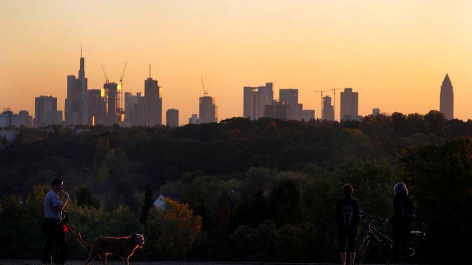 Entspannte Stimmung: In Frankfurt löst die Evergrande-Krise kaum Nervosität aus