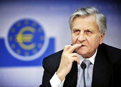 EZB-Präsident Jean-Claude Trichet: Keine Tendenz in der Geldpolitik