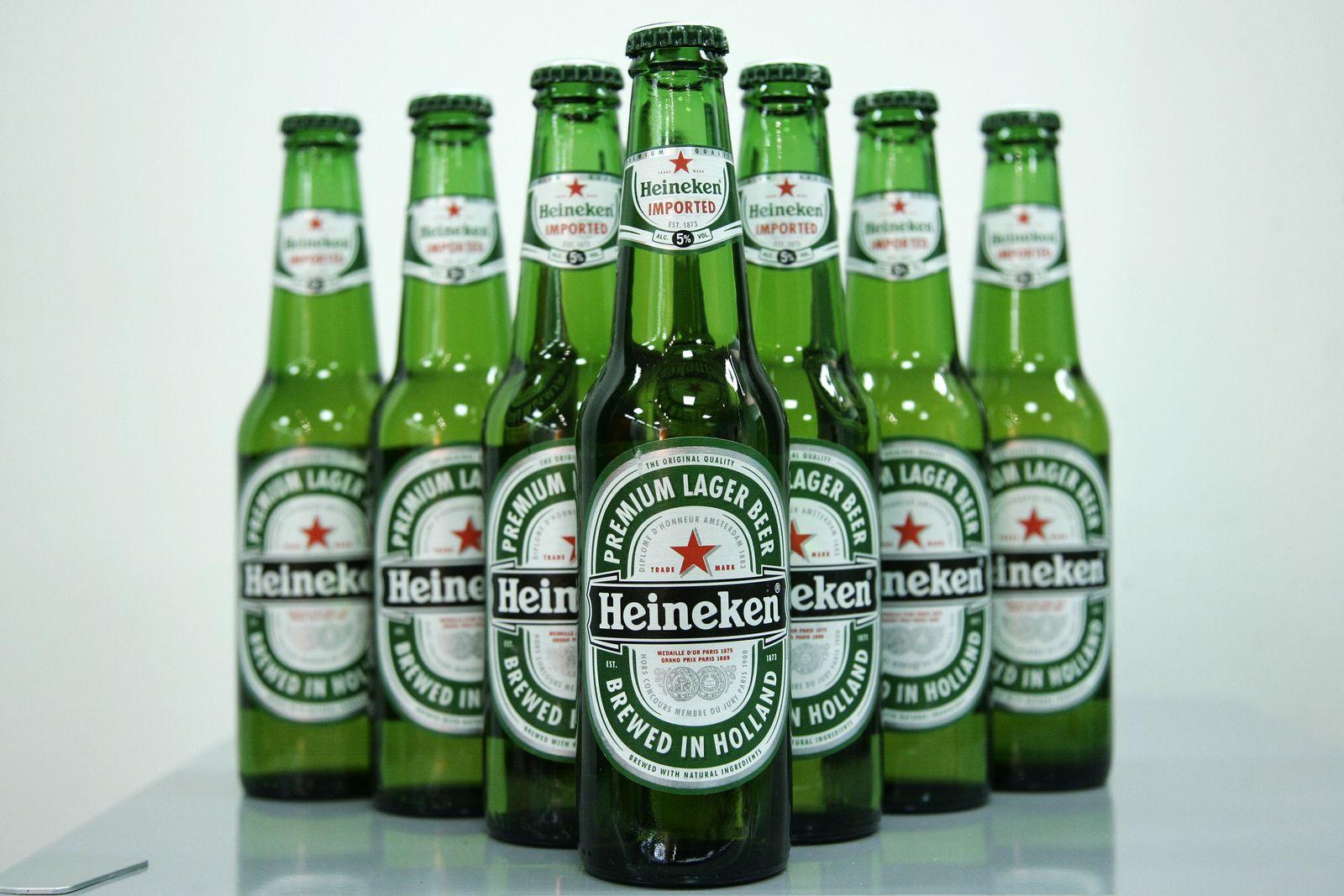 Heineken Carlsberg Bier