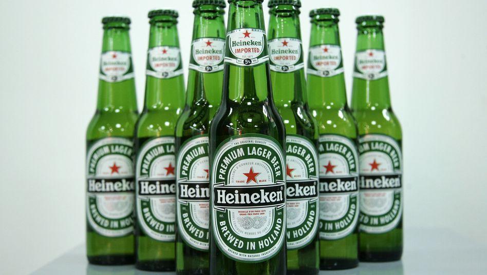 Heineken-Bier: Russen und Afrikaner greifen häufiger zu dem teuren holländischen Gebräu