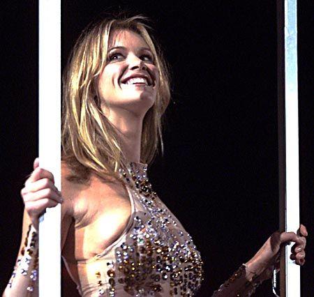 Auch das australische Supermodell Elle MacPherson gab sich in Sydney die Ehre.