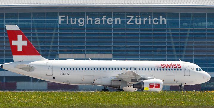 Der Flughafen in Zürich.