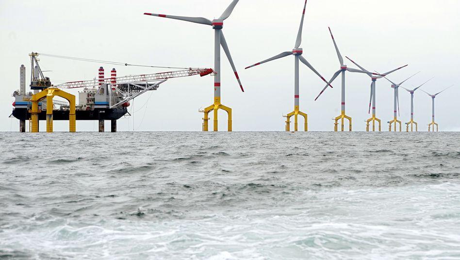 Windenergie auf hoher See: Hohe Kosten, langsamer Ausbau
