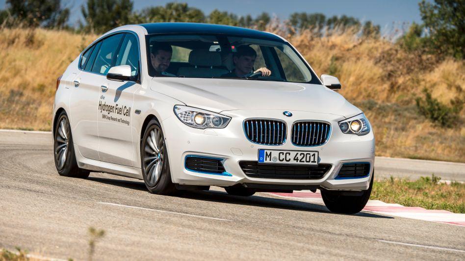 Brennstoffzelle in BMW-Autos dürften wohl eher in größeren Modellen ab der 5er-Reihe eine Zukunft haben, sagt der Konzern voraus
