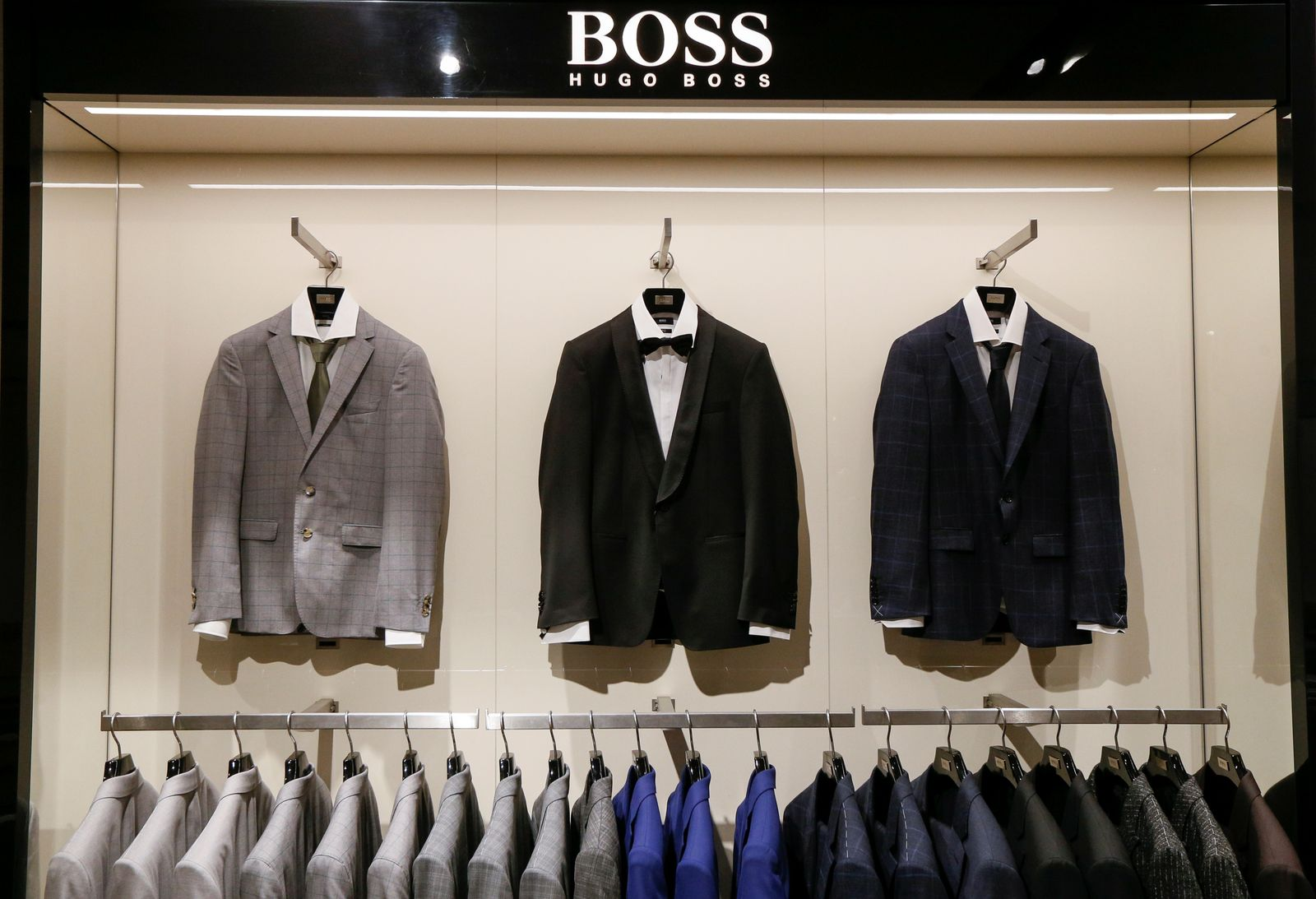 Hugo Boss / Schaufenster
