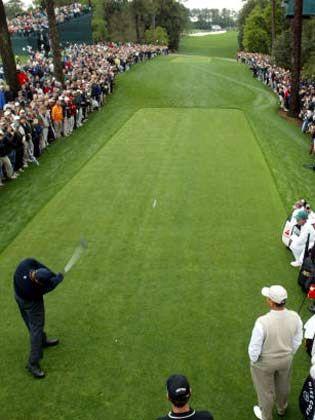 Tiger Woods Golfturnier 8.4.