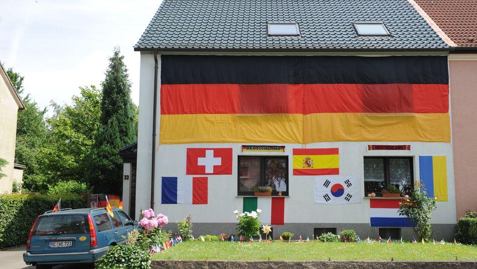Eigenheim: Die eigene Wohnung oder das eigene Haus stehen in der Anlegergunst ganz oben - nicht nur in Deutschland