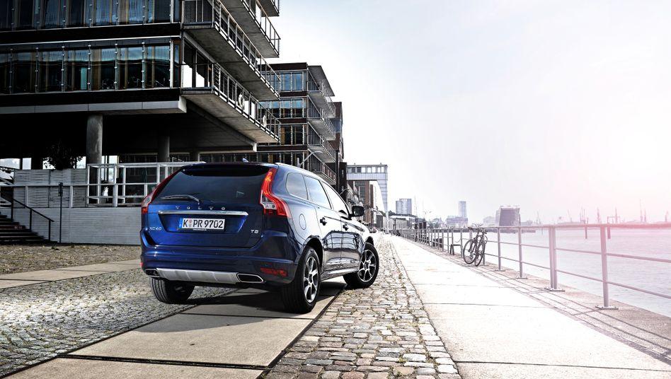 """Volvo XC60: Bei einem Modell der Baureihe mit der Schadstoffklasse Euro 5 will die Deutsche Umwelthilfe eine """"eindeutig illegale"""" Abschaltvorrichtung bei der Abgasreinigung entdeckt haben"""