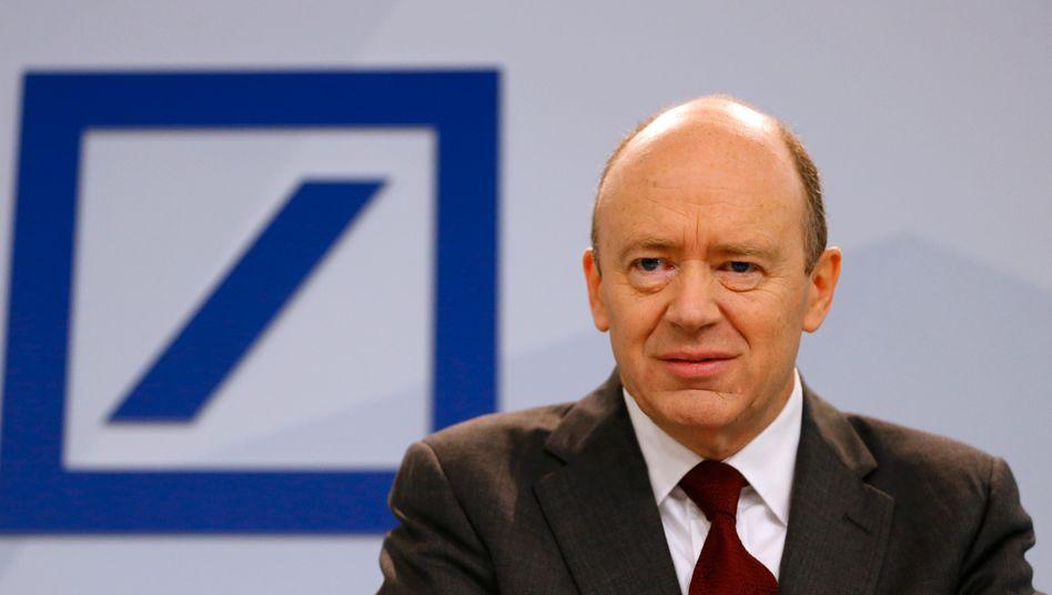 """John Cryan: """"In Deutschland gibt es schlicht zu viele Banken - wir brauchen weitere Zusammenschlüsse"""""""