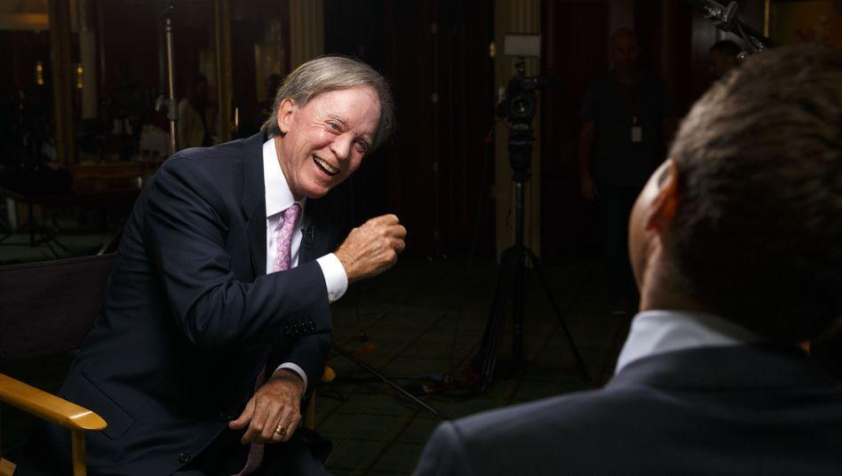 Bill Gross, co-founder of PIMCO, during a Bloomberg Television interview in Beverly Hills.
