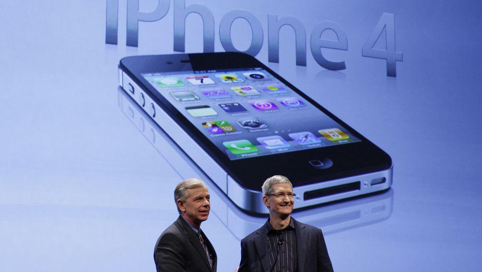 Neuer Apple-Frontmann Tim Cook: Übernimmt das derzeit weltweit wertvollste Unternehmen