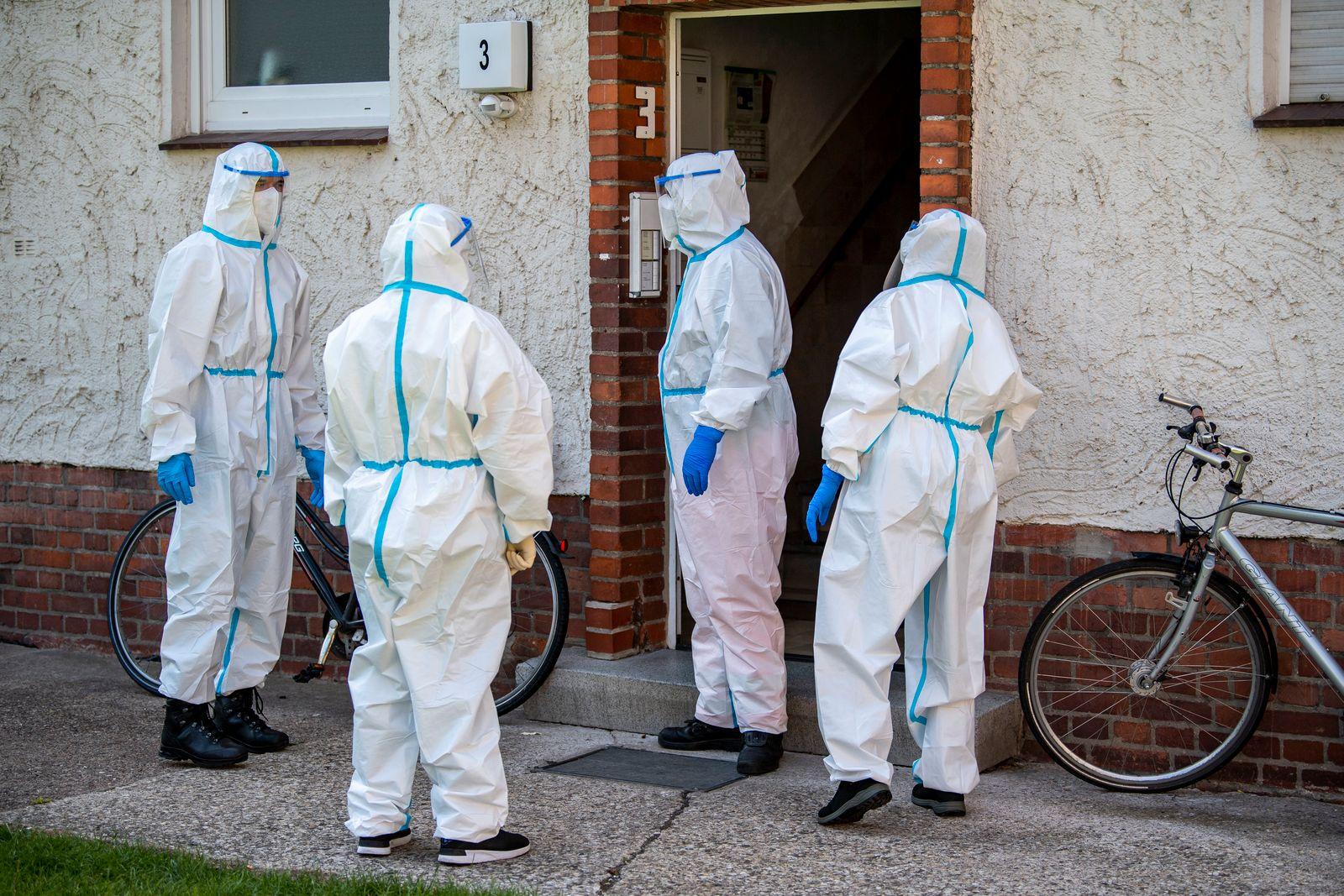Coronavirus - Ausbruch bei Tönnies - Mobile Testteams