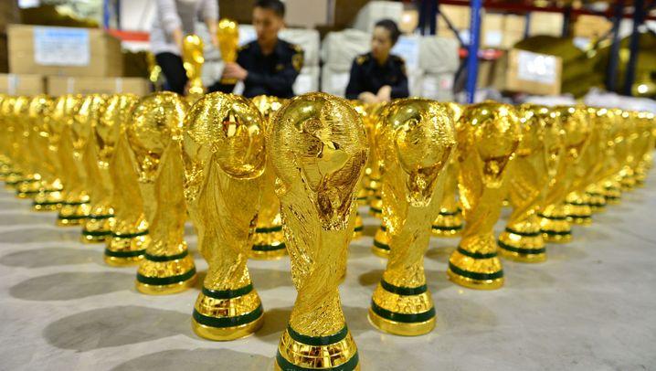 Raubkopien in China: 1000 falsche Pokale