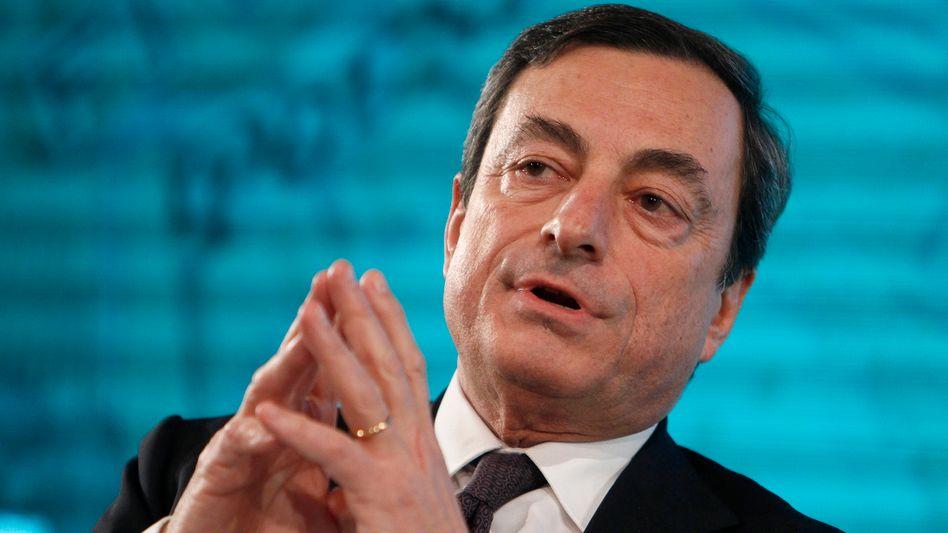 Notenbankchef Draghi: Heißester Anwärter auf den EZB-Chefposten