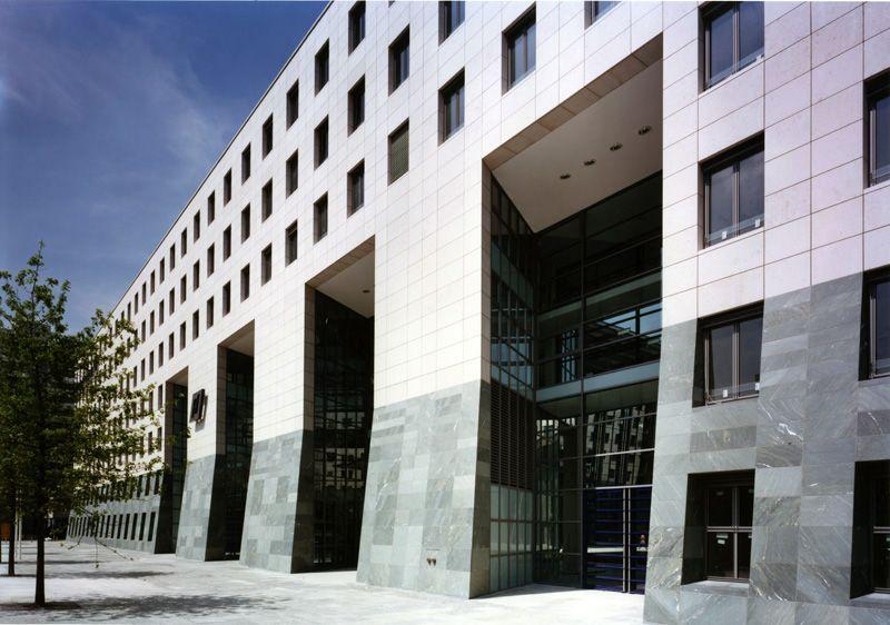 IKB-Gebäude in Düsseldorf / IKB Deutsche Industriebank