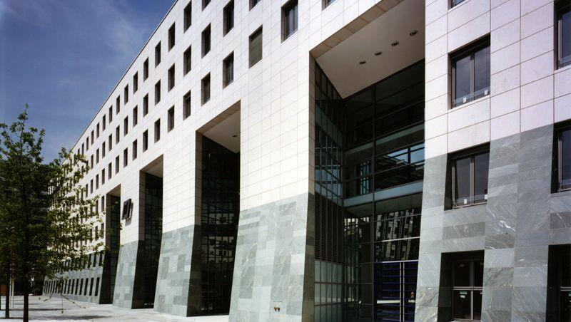 """IKB-Zentrale in Düsseldorf: Auch das Gebäude der Krisenbank gehört dem Axa Immoselect - """"langfristig an ein Kreditinstitut vermietet"""", heißt es"""