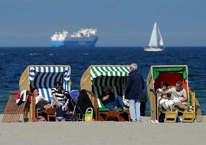"""Strandkorb in Travemünde: """"Die Leute wollen in den Urlaub"""""""