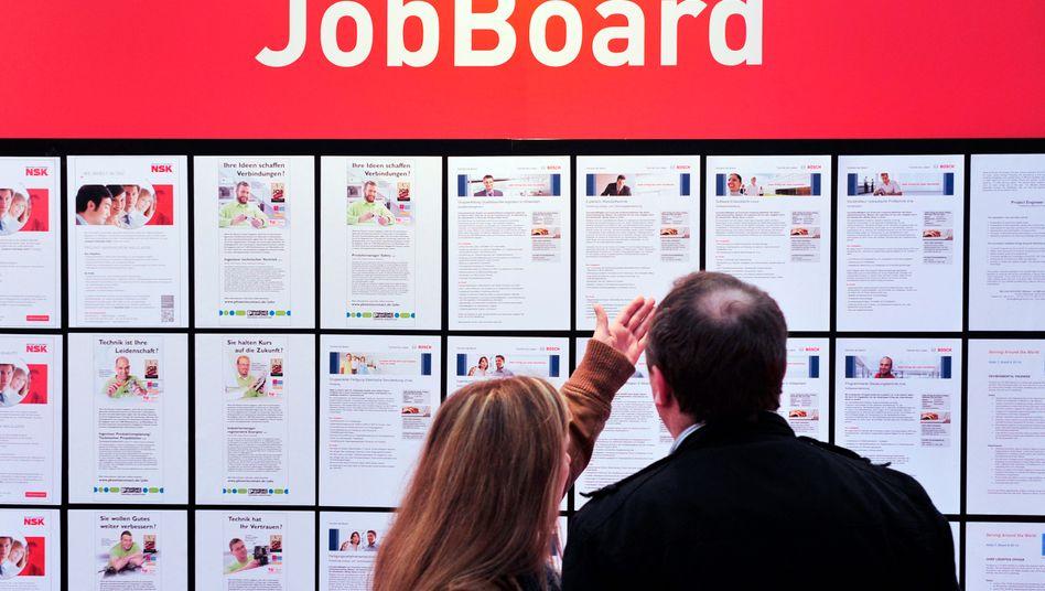Mehr Menschen im Job: Die Arbeitslosenquote ist im Mai auf 5,9 Prozent leicht gesunken
