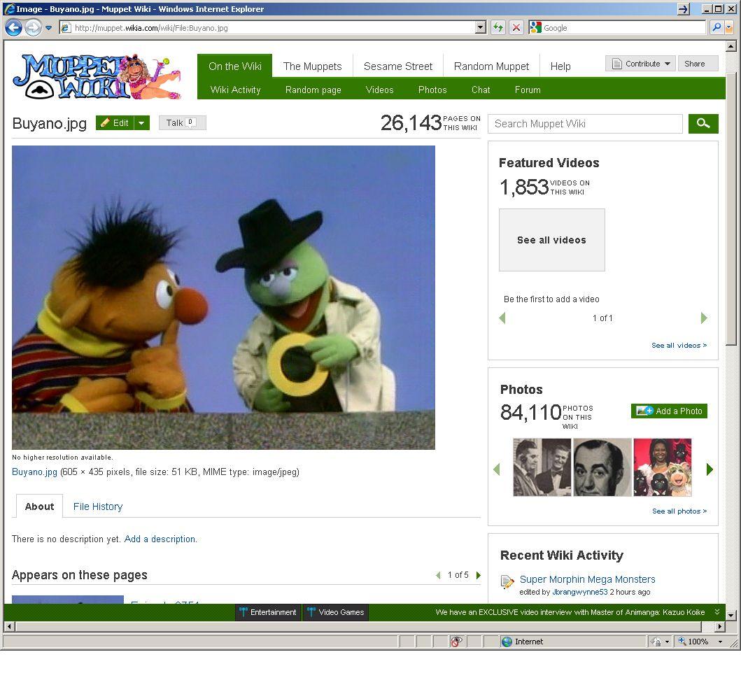 EINMALIGE VERWENDUNG SCREENSHOT Schlehmil / http://muppet.wikia.com