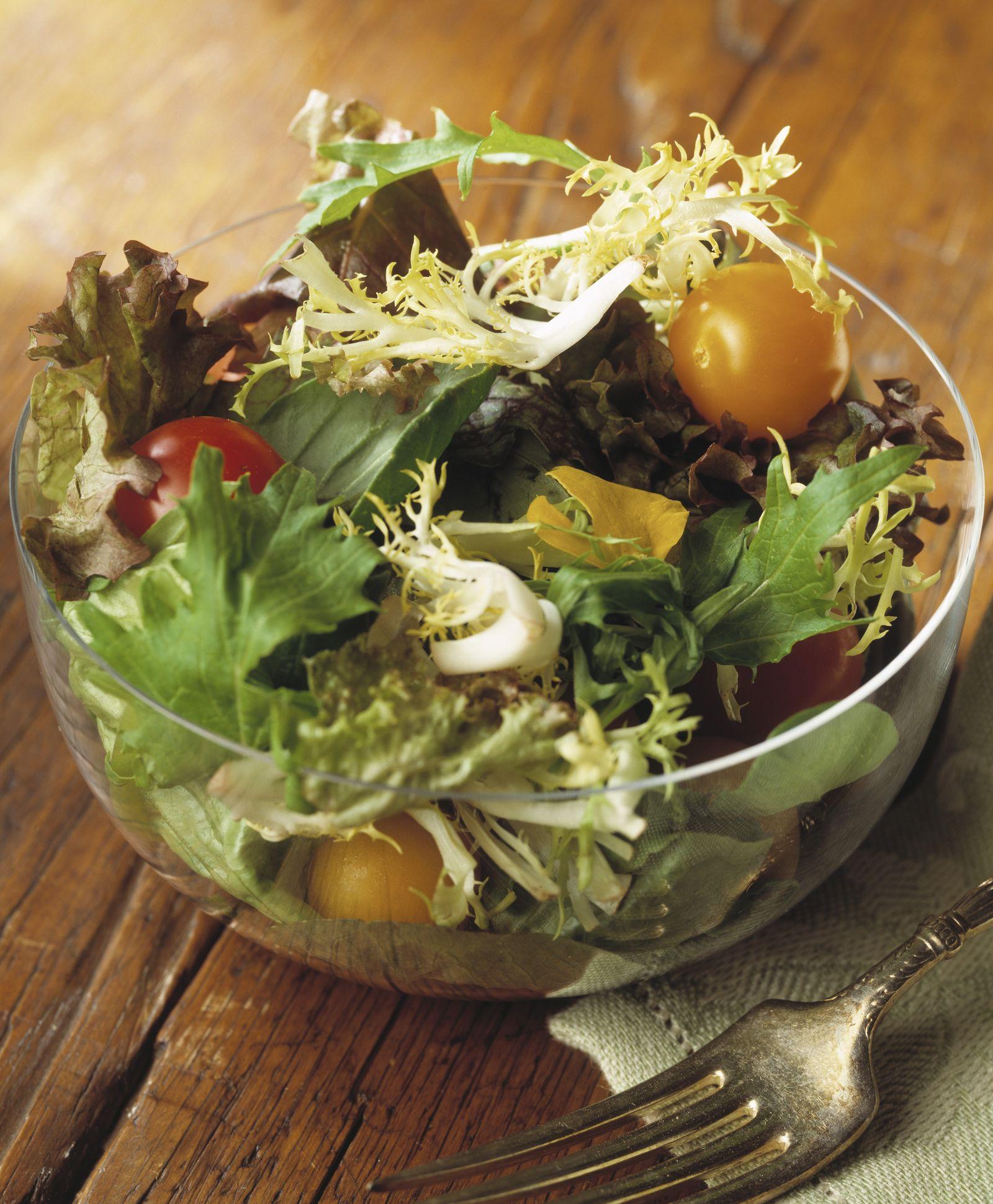 NICHT MEHR VERWENDEN! - Salat / Salatschüssel