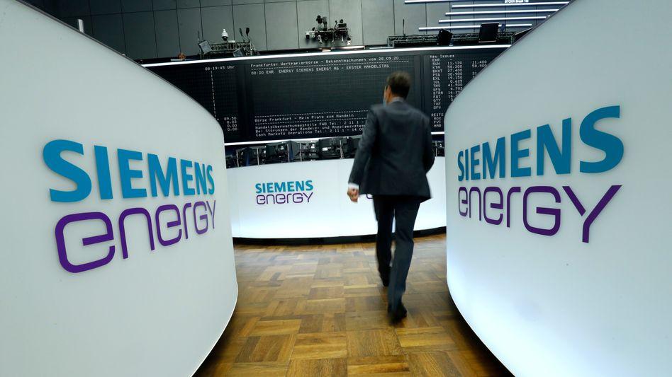 Im MDax notiert: Siemens Energy wurde im September vergangenen Jahres an die Börse gebracht