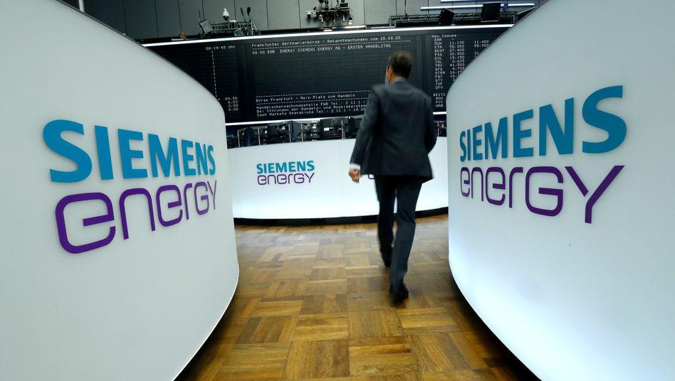 Es läuft gut an der Börse: Siemens Energy war erst im vergangenen September von Siemens ausgegliedert und an der Börse notiert worden